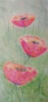 """flowers4"", Format: 190mm x 400mm (Breite x Höhe)"