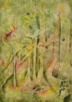 """""""forest"""", Format: 460mm x 670mm (Breite x Höhe), verkauft"""