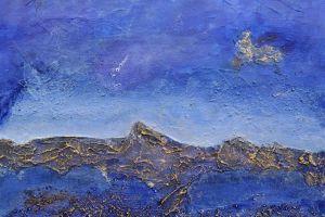 """""""blue"""", Format: 270mm x 265mm (Breite x Höhe)"""