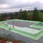 Styrodur für wärmegedämmte Bodenplatte