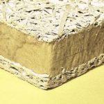 Holzwolle-Mineralwolle-Verbundplatte
