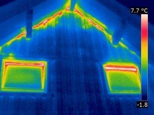 Luftdichtheitsmängel bei Wärmedämmung mit hinterlüfteter Fassade