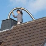 Einführung einer flexiblen Abgasleitung