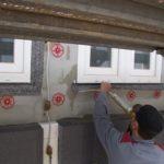 Luftdichter Einbau von Fenstern