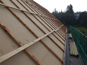 Holzfaserdämmplatten mit geringem Dampfdiffusionswiderstand