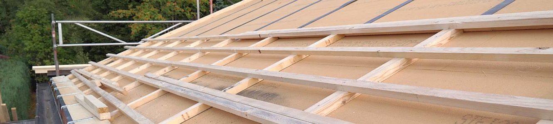 Diffusionsoffenes Unterdach mit regendichten Holzfaserdämmplatten