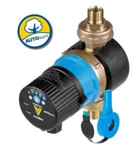 Effiziente Brauchwasserpumpe für Ein- bis Zweifamilienhäuser (VORTEX)
