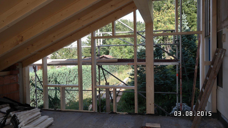 Holzrahmenbau (vertikale Ständer)