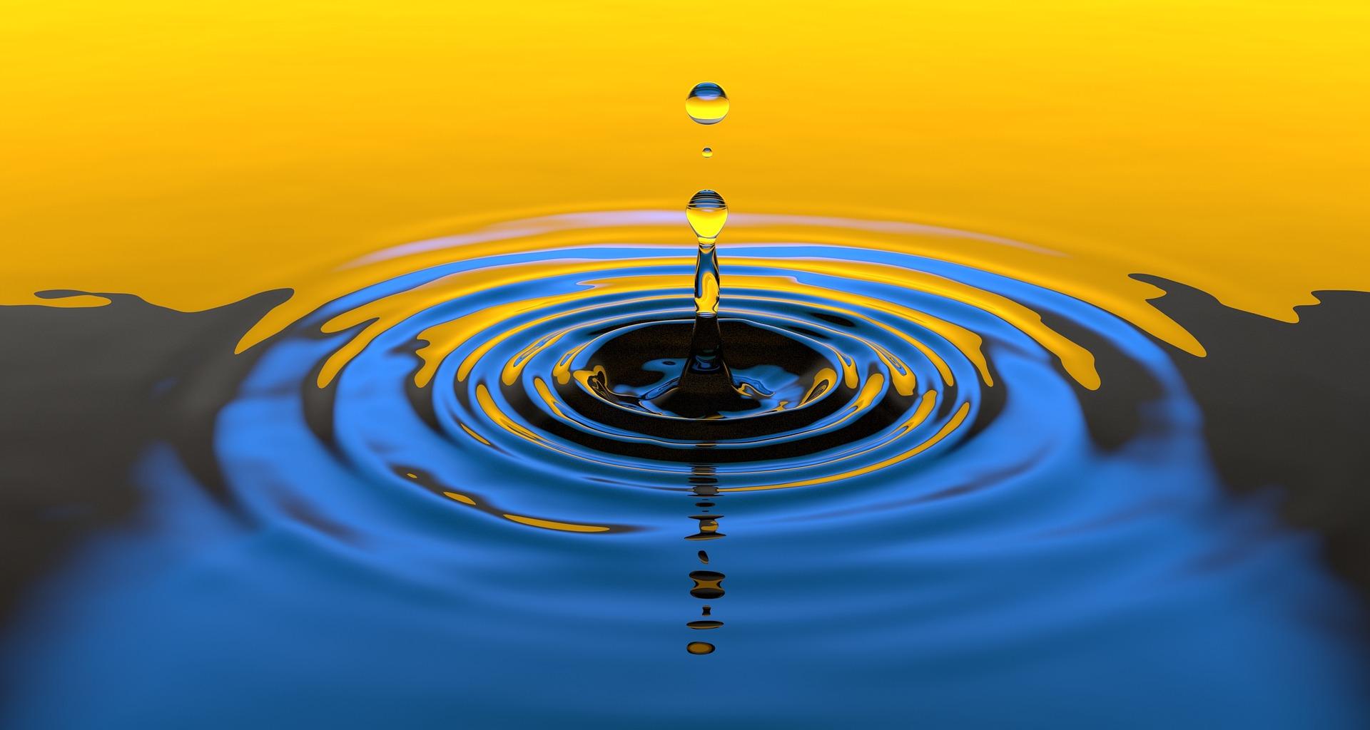 Wassertropfen, Bild von Arek Socha auf pixabay.com